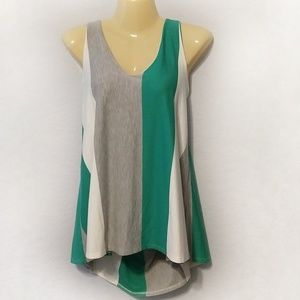 Anthro Puella color block swing top